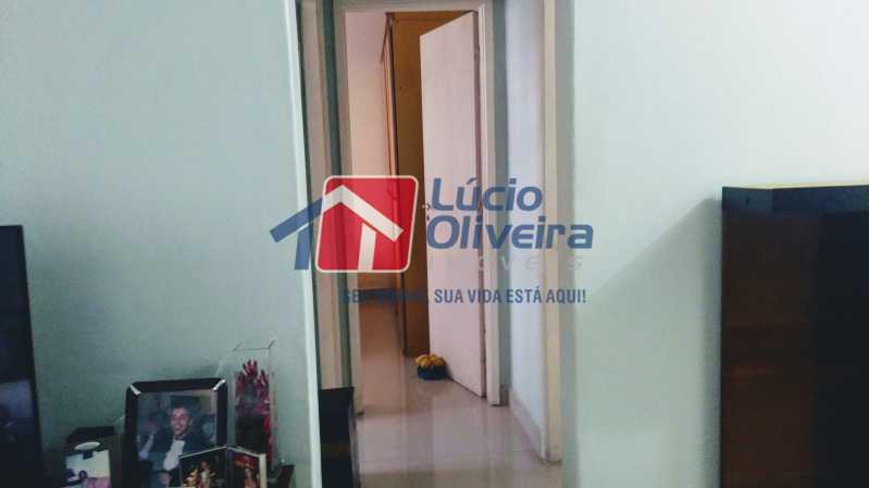 7 sala com corredor - Apartamento 2qtos. - VPAP21075 - 8