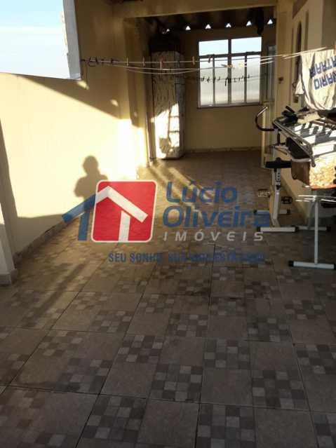 18-Terraço - Casa a venda 2 suítes. - VPCA20199 - 22