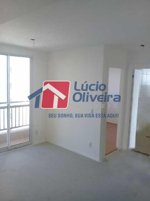 3 sala - Apartamento 2 quartos. - VPAP21078 - 4