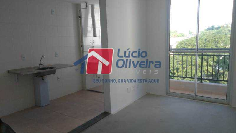 5 sala-cozinha - Apartamento 2 quartos. - VPAP21078 - 6