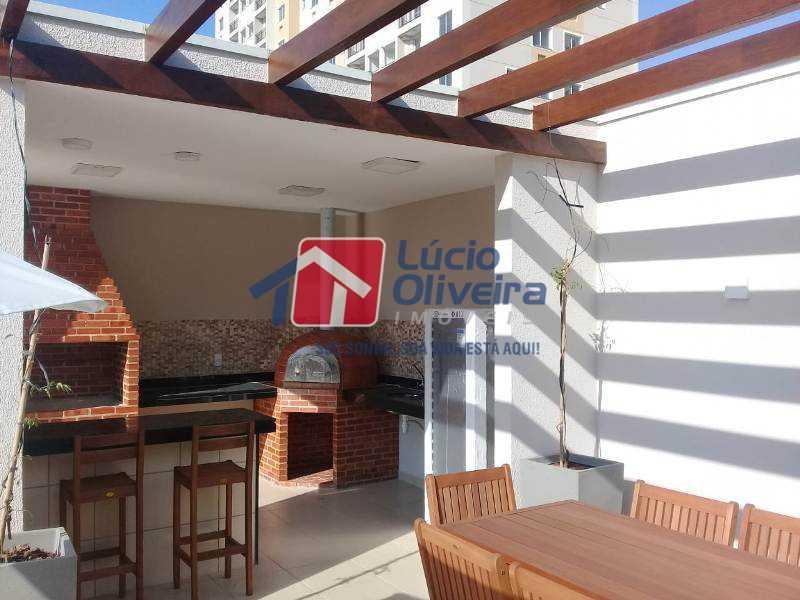 15 churrasqueira - Apartamento 2 quartos. - VPAP21078 - 16