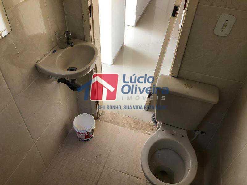 13-Banheiro social - Apartamento 2 quartos. - VPAP21080 - 14