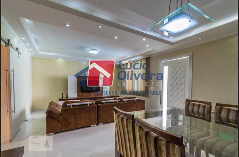 1 sala. - Casa em Condomínio à venda Rua Francisco Scarambone,Vista Alegre, Rio de Janeiro - R$ 1.200.000 - VPCN30009 - 1