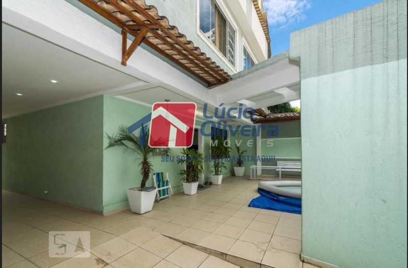 2 frente. - Casa em Condomínio à venda Rua Francisco Scarambone,Vista Alegre, Rio de Janeiro - R$ 1.200.000 - VPCN30009 - 6