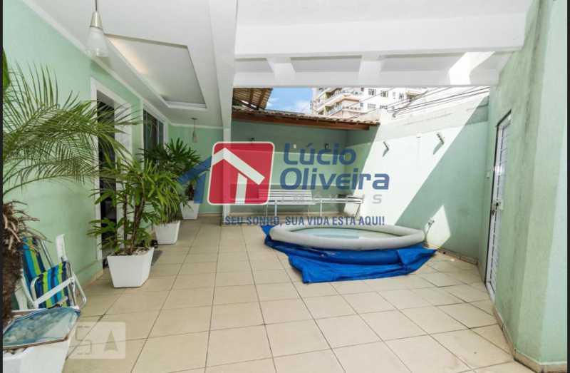 3 frente. - Casa em Condomínio à venda Rua Francisco Scarambone,Vista Alegre, Rio de Janeiro - R$ 1.200.000 - VPCN30009 - 10