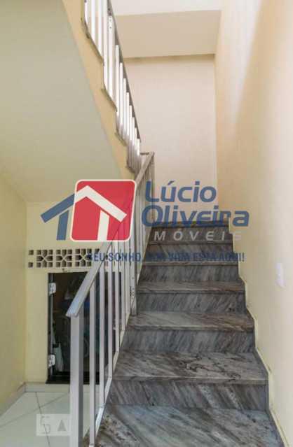 10 escada. - Casa em Condomínio à venda Rua Francisco Scarambone,Vista Alegre, Rio de Janeiro - R$ 1.200.000 - VPCN30009 - 14