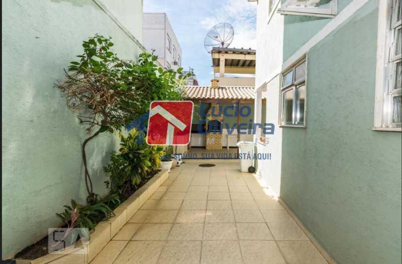 19 churrasqueira. - Casa em Condomínio à venda Rua Francisco Scarambone,Vista Alegre, Rio de Janeiro - R$ 1.200.000 - VPCN30009 - 20