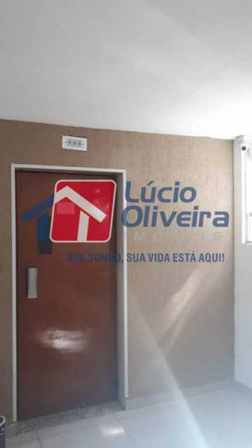 14-Hall elevador. - Apartamento para venda 2 quartos. - VPAP21091 - 14