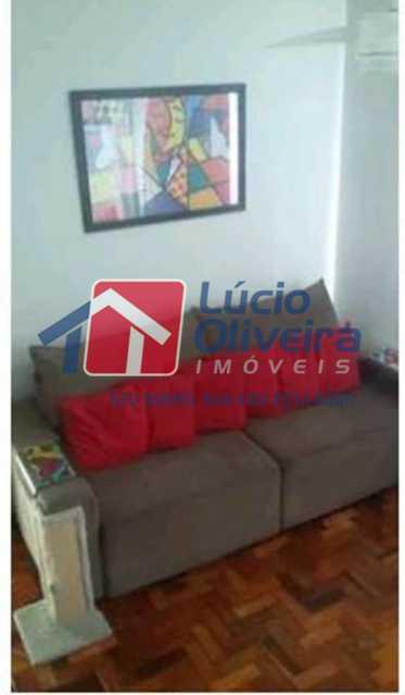 1-Sala. - Apartamento À Venda - Vila Kosmos - Rio de Janeiro - RJ - VPAP21092 - 1