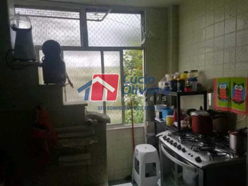 10-Cozinha com area serviço - Apartamento À Venda - Vila Kosmos - Rio de Janeiro - RJ - VPAP21092 - 11