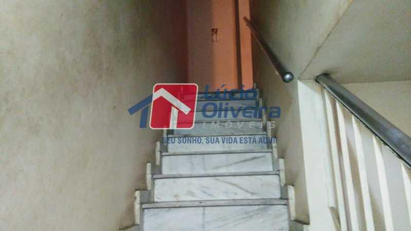 16 escada acesso ao terraço - Casa 2 quartos à venda Olaria, Rio de Janeiro - R$ 390.000 - VPCA20205 - 17