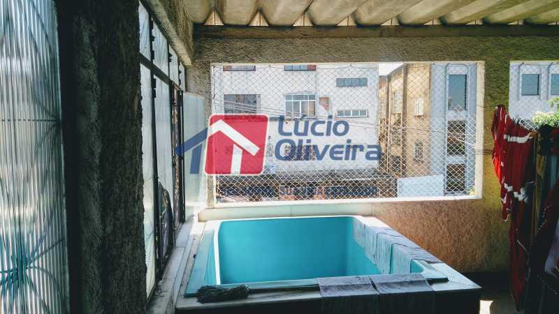 20 terraco piscina - Casa À Venda - Olaria - Rio de Janeiro - RJ - VPCA20205 - 21