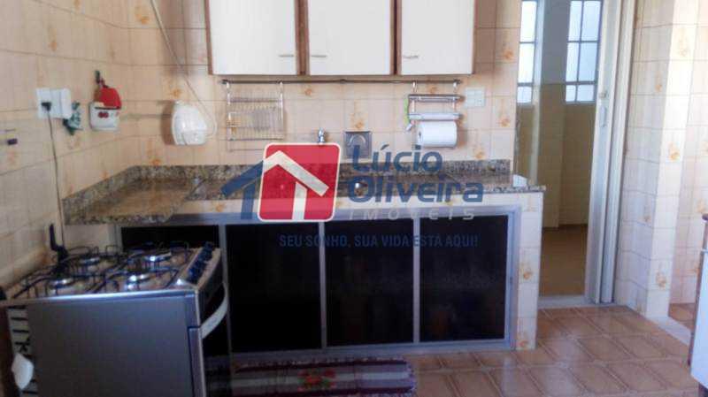 13-Cozinha. - Casa à venda Rua Coronel Nunes Machado,Vila da Penha, Rio de Janeiro - R$ 475.000 - VPCA30139 - 15
