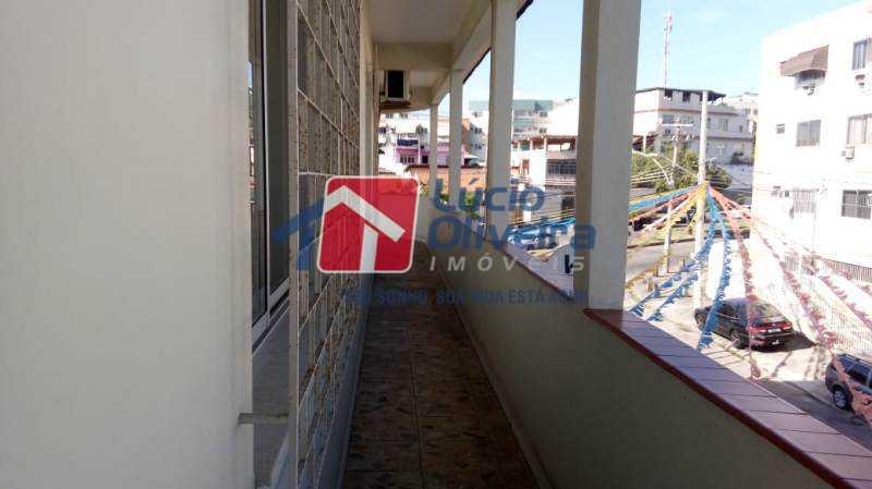 21-Varanda Lateral. - Casa à venda Rua Coronel Nunes Machado,Vila da Penha, Rio de Janeiro - R$ 475.000 - VPCA30139 - 23