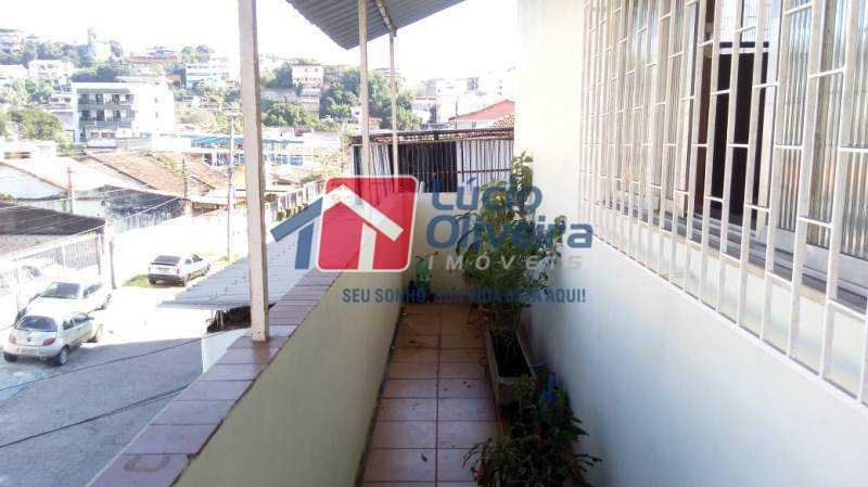 22-Varanda Parcial. - Casa à venda Rua Coronel Nunes Machado,Vila da Penha, Rio de Janeiro - R$ 475.000 - VPCA30139 - 24