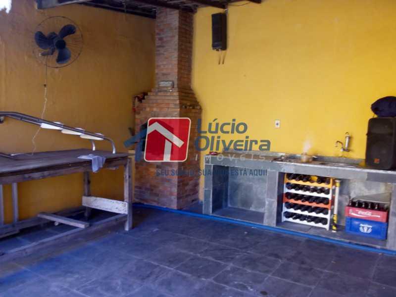 quintal churrasqueira. - Casa Rua Ibotirama,Colégio,Rio de Janeiro,RJ À Venda,4 Quartos,200m² - VPCA40043 - 8