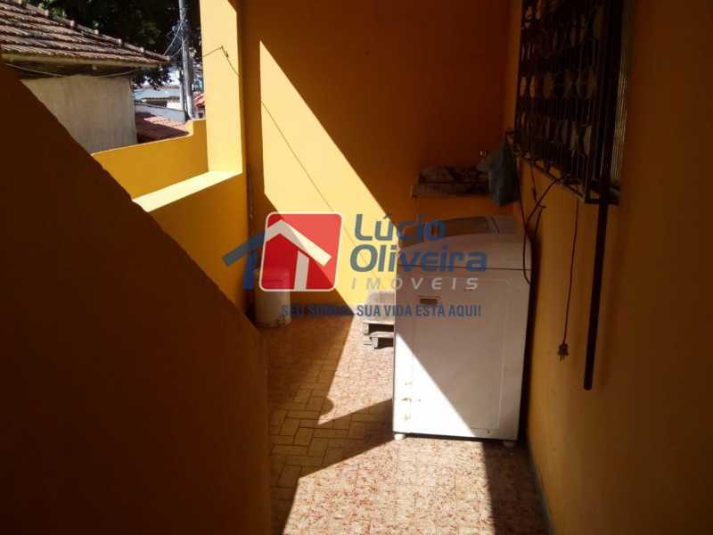 area de serviço 1°pav. - Casa Rua Ibotirama,Colégio,Rio de Janeiro,RJ À Venda,4 Quartos,200m² - VPCA40043 - 9