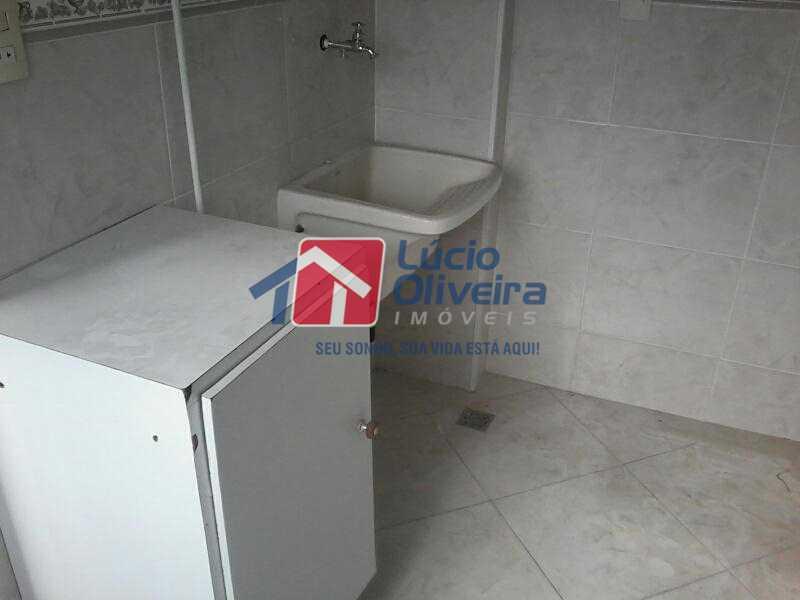11-Area Serviço - Apartamento à venda Avenida dos Italianos,Rocha Miranda, Rio de Janeiro - R$ 230.000 - VPAP21101 - 12