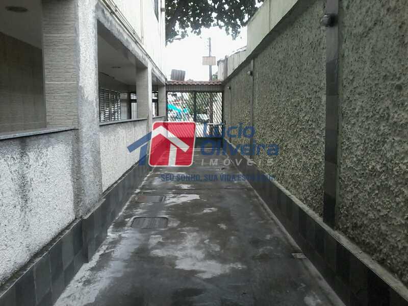 17-Entrada Garagem - Apartamento à venda Avenida dos Italianos,Rocha Miranda, Rio de Janeiro - R$ 230.000 - VPAP21101 - 18