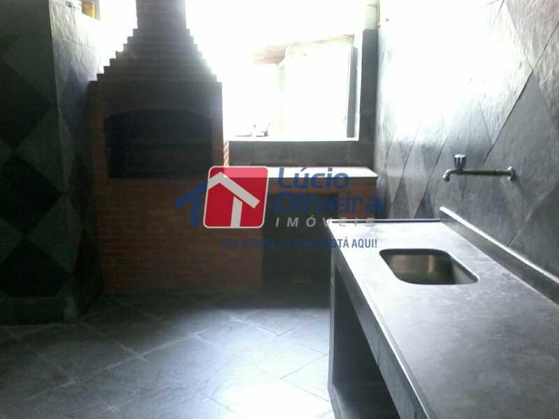 19-Churrasqueira - Apartamento à venda Avenida dos Italianos,Rocha Miranda, Rio de Janeiro - R$ 230.000 - VPAP21101 - 20