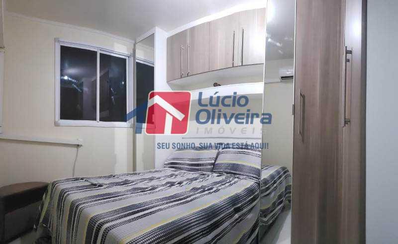 5-Quarto casal. - Apartamento À Venda - Rocha Miranda - Rio de Janeiro - RJ - VPAP21102 - 6