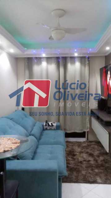 4-Sala. - Apartamento À Venda - Rocha Miranda - Rio de Janeiro - RJ - VPAP21102 - 5