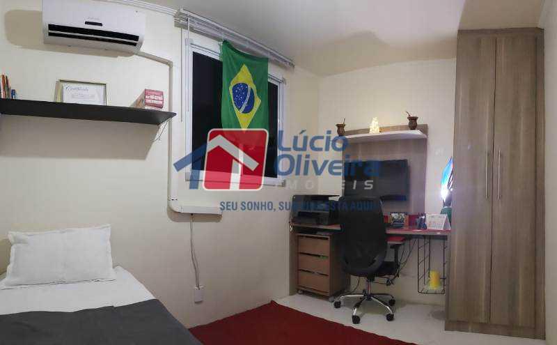 8-Quarto solteiro. - Apartamento À Venda - Rocha Miranda - Rio de Janeiro - RJ - VPAP21102 - 9