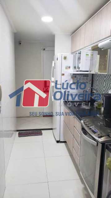 9-Cozinha. - Apartamento À Venda - Rocha Miranda - Rio de Janeiro - RJ - VPAP21102 - 10