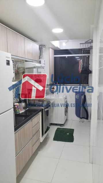 10-Cozinha armarios. - Apartamento À Venda - Rocha Miranda - Rio de Janeiro - RJ - VPAP21102 - 11