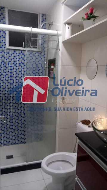 11-Banheiro social... - Apartamento À Venda - Rocha Miranda - Rio de Janeiro - RJ - VPAP21102 - 12