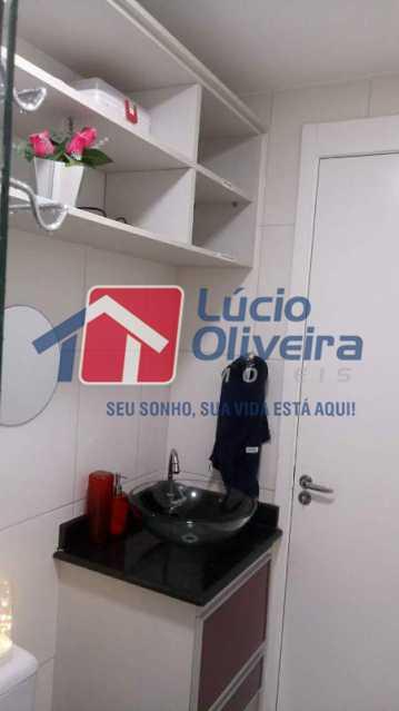 12-Banheiro Social. - Apartamento À Venda - Rocha Miranda - Rio de Janeiro - RJ - VPAP21102 - 13