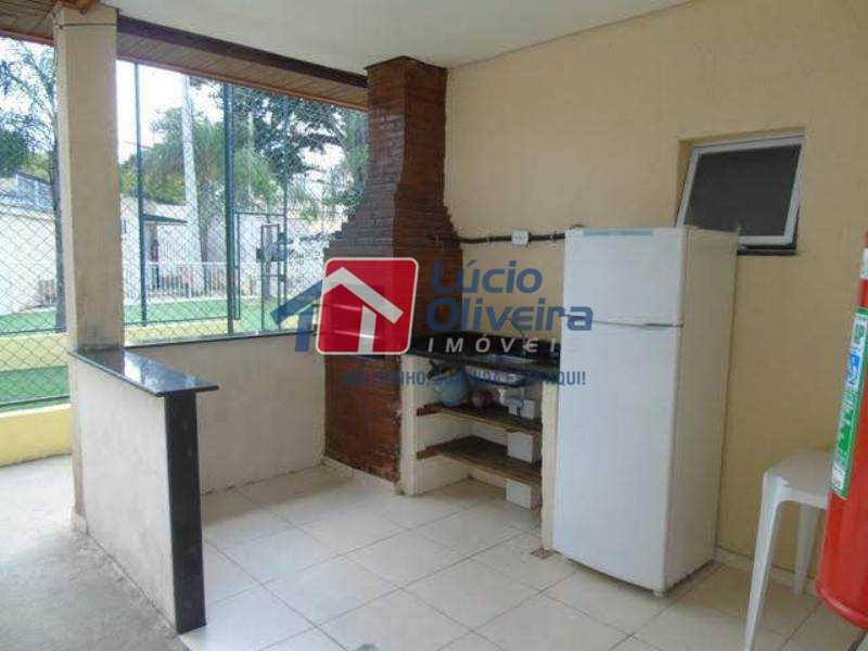 15-Churrasqueira. - Apartamento À Venda - Rocha Miranda - Rio de Janeiro - RJ - VPAP21102 - 16