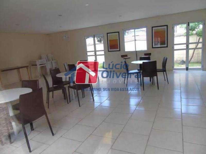 20-Salão de festas. - Apartamento À Venda - Rocha Miranda - Rio de Janeiro - RJ - VPAP21102 - 21