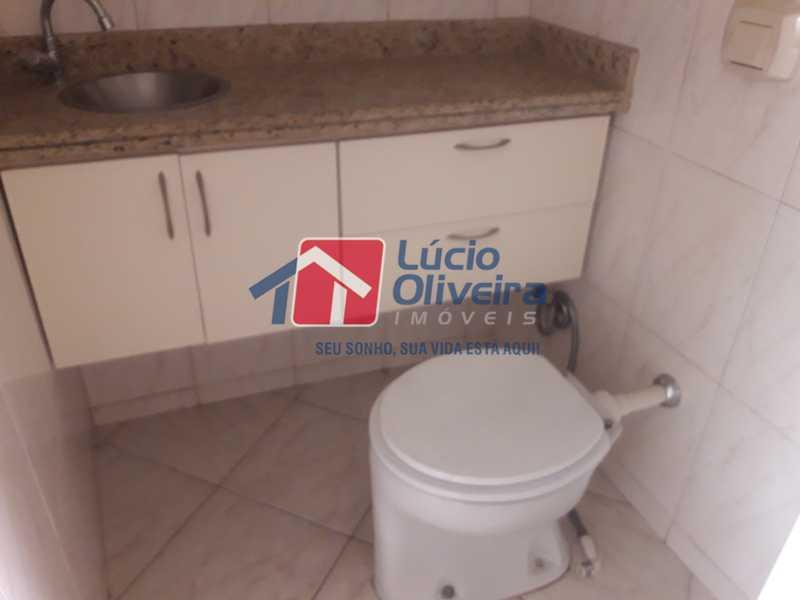 12-Banheiro social.. - Apartamento À Venda - Vila da Penha - Rio de Janeiro - RJ - VPAP21103 - 13
