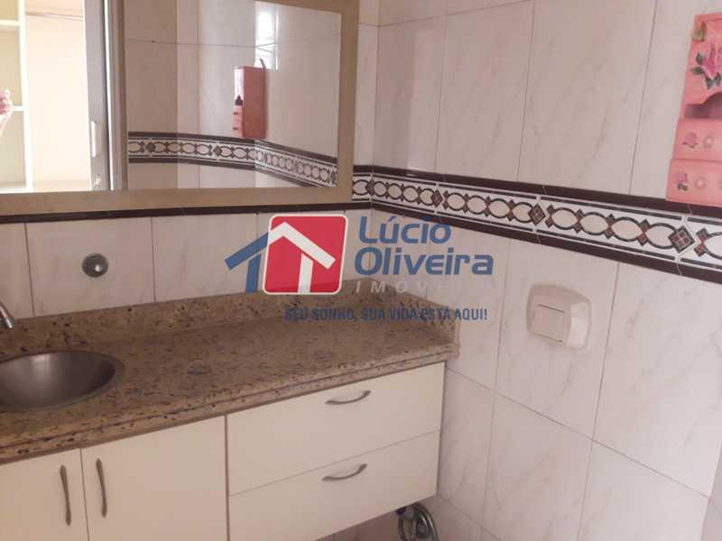 13-Banheiro social - Apartamento À Venda - Vila da Penha - Rio de Janeiro - RJ - VPAP21103 - 14