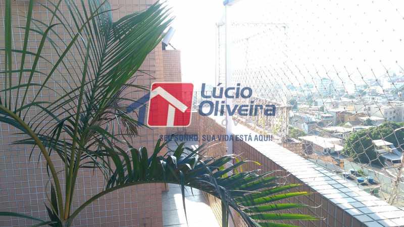 5 varanda - Cobertura À Venda - Olaria - Rio de Janeiro - RJ - VPCO30020 - 6