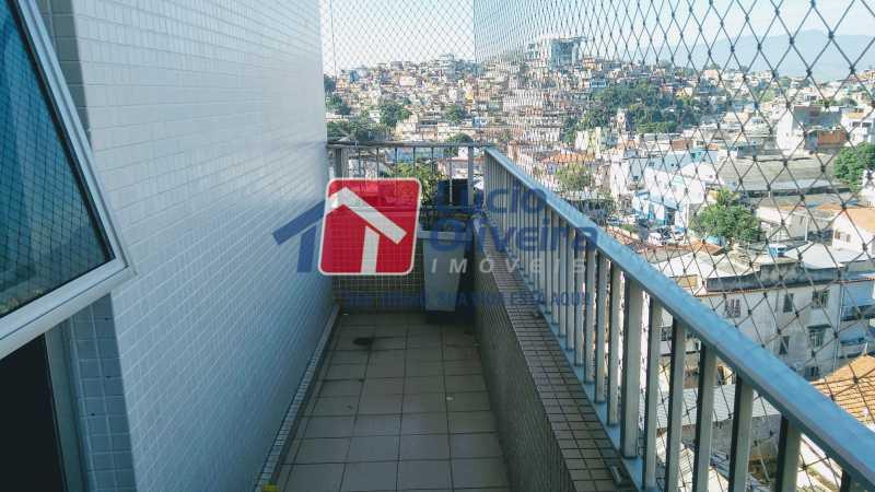 6 varanda - Cobertura À Venda - Olaria - Rio de Janeiro - RJ - VPCO30020 - 7