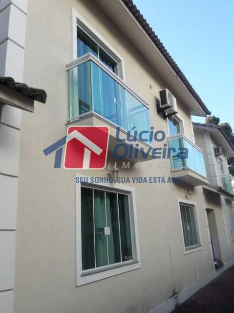 1-Area Externa - Casa à venda Rua São João Gualberto,Vila da Penha, Rio de Janeiro - R$ 350.000 - VPCA20208 - 1