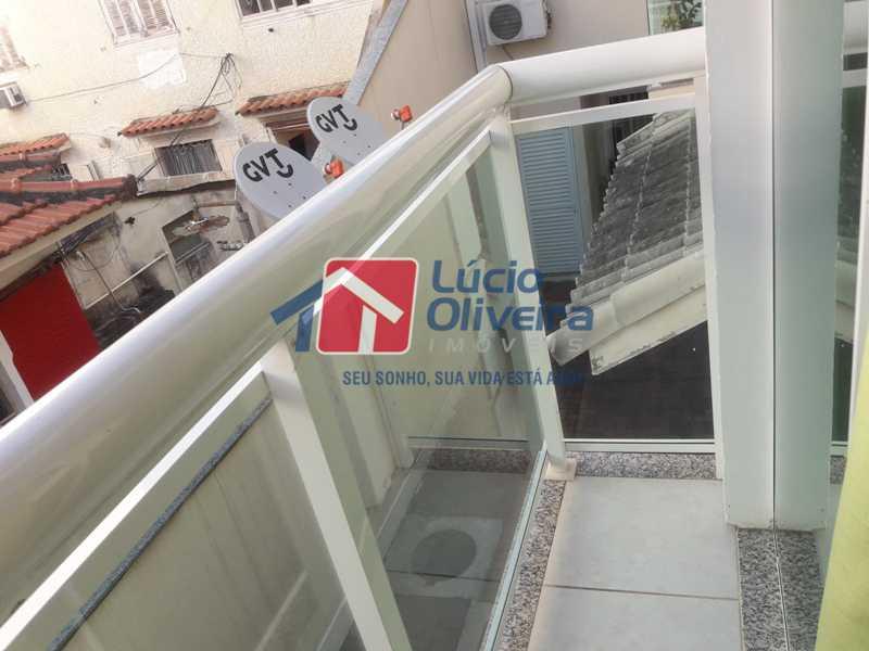 4-Varanda 2 - Casa à venda Rua São João Gualberto,Vila da Penha, Rio de Janeiro - R$ 350.000 - VPCA20208 - 5