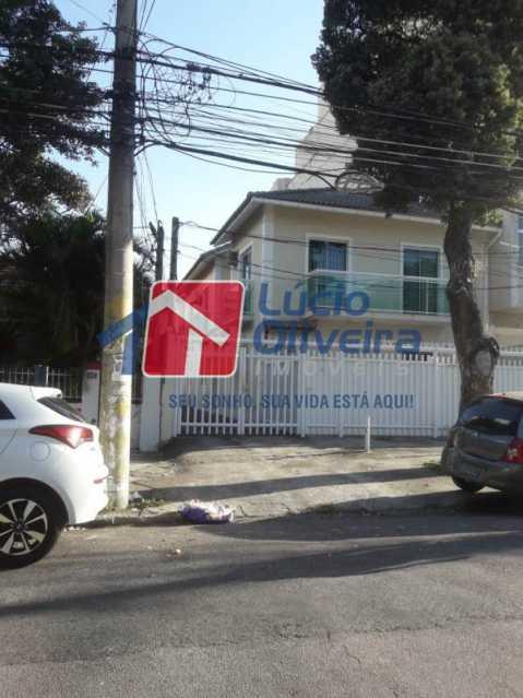 20- FrenteCodominio. - Casa à venda Rua São João Gualberto,Vila da Penha, Rio de Janeiro - R$ 350.000 - VPCA20208 - 20