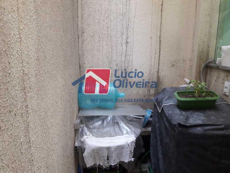 23-Area externa 2 - Casa à venda Rua São João Gualberto,Vila da Penha, Rio de Janeiro - R$ 350.000 - VPCA20208 - 23