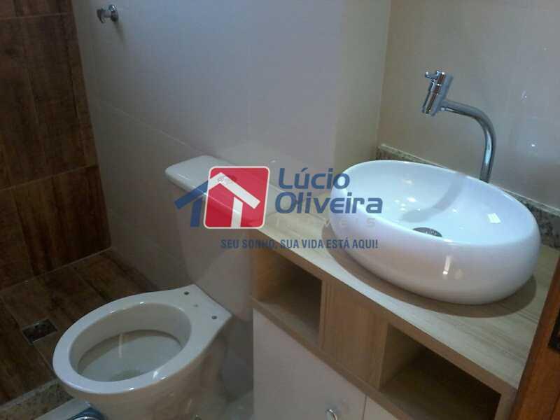 9-Banheiro social - Apartamento À Venda - Rocha Miranda - Rio de Janeiro - RJ - VPAP21104 - 10