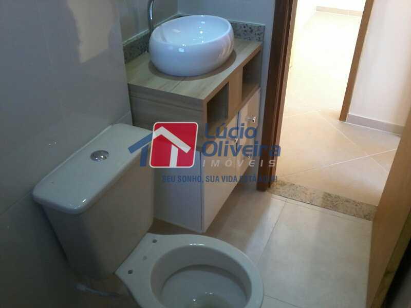 10-Banheiro Social - Apartamento À Venda - Rocha Miranda - Rio de Janeiro - RJ - VPAP21104 - 11