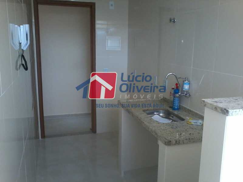 13-Cozinha - Apartamento À Venda - Rocha Miranda - Rio de Janeiro - RJ - VPAP21104 - 14