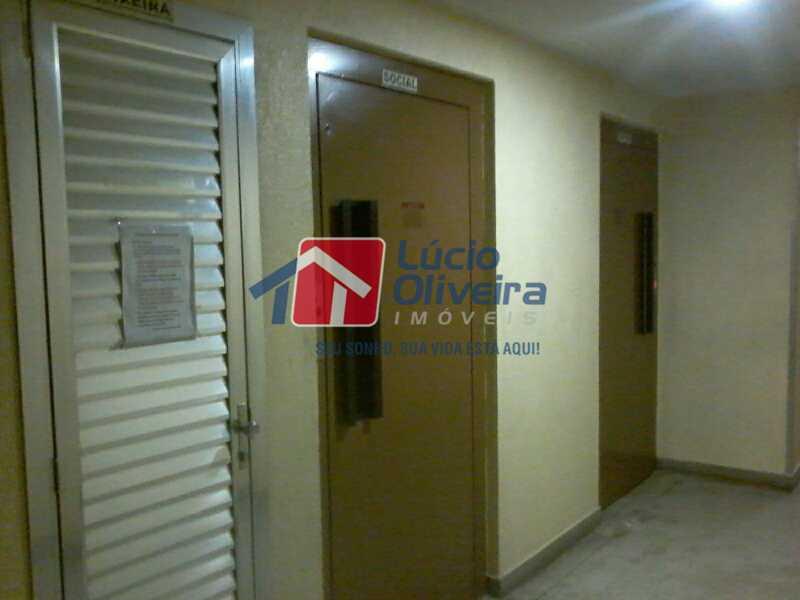 16- Hall Elevadores - Apartamento À Venda - Rocha Miranda - Rio de Janeiro - RJ - VPAP21104 - 17