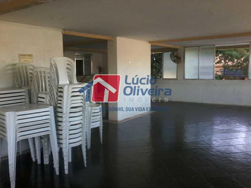 22- Salão Festas - Apartamento À Venda - Rocha Miranda - Rio de Janeiro - RJ - VPAP21104 - 22