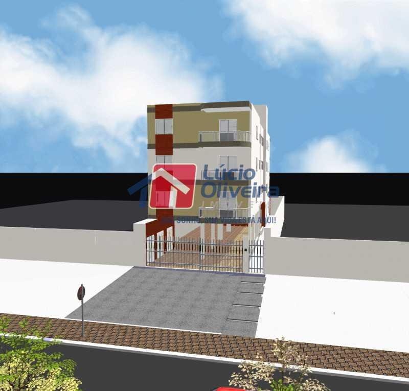 01 - Terreno 340m² à venda Estrada do Quitungo,Braz de Pina, Rio de Janeiro - R$ 400.000 - VPBF00013 - 1