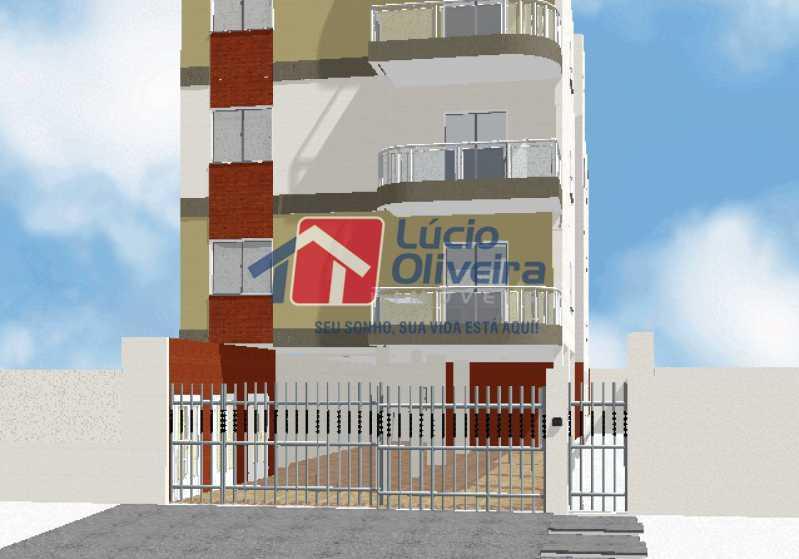 02 - Terreno 340m² à venda Estrada do Quitungo,Braz de Pina, Rio de Janeiro - R$ 400.000 - VPBF00013 - 3