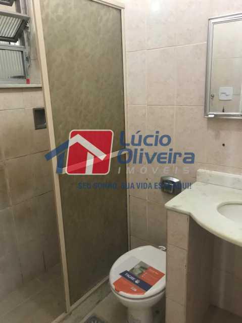 13-Banheiro social.. - Apartamento Rua Vaz de Toledo,Méier, Rio de Janeiro, RJ Para Venda e Aluguel, 2 Quartos, 62m² - VPAP21109 - 14