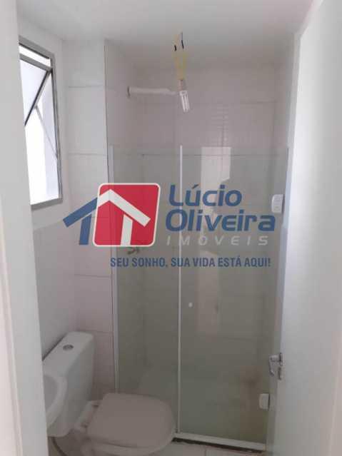 11 BANHEIRO - Apartamento Rua Moacir de Almeida,Tomás Coelho,Rio de Janeiro,RJ À Venda,2 Quartos,45m² - VPAP21115 - 13